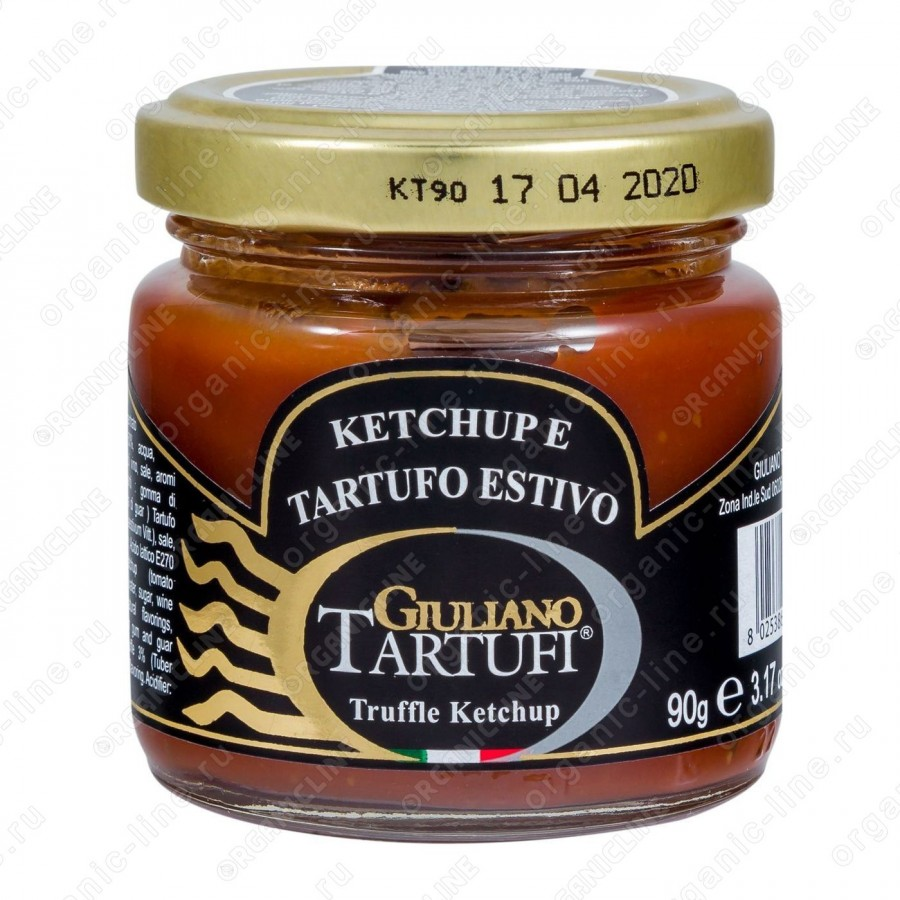 """Кетчуп с черным трюфелем """"Tartufo Estivo"""" 90 г Giuliano Tartufi"""