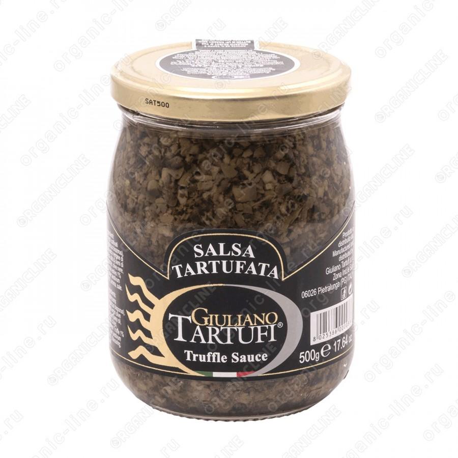 """Соус грибной трюфельный """"Salsa Tartufata"""" 500 г Giuliano Tartufi"""