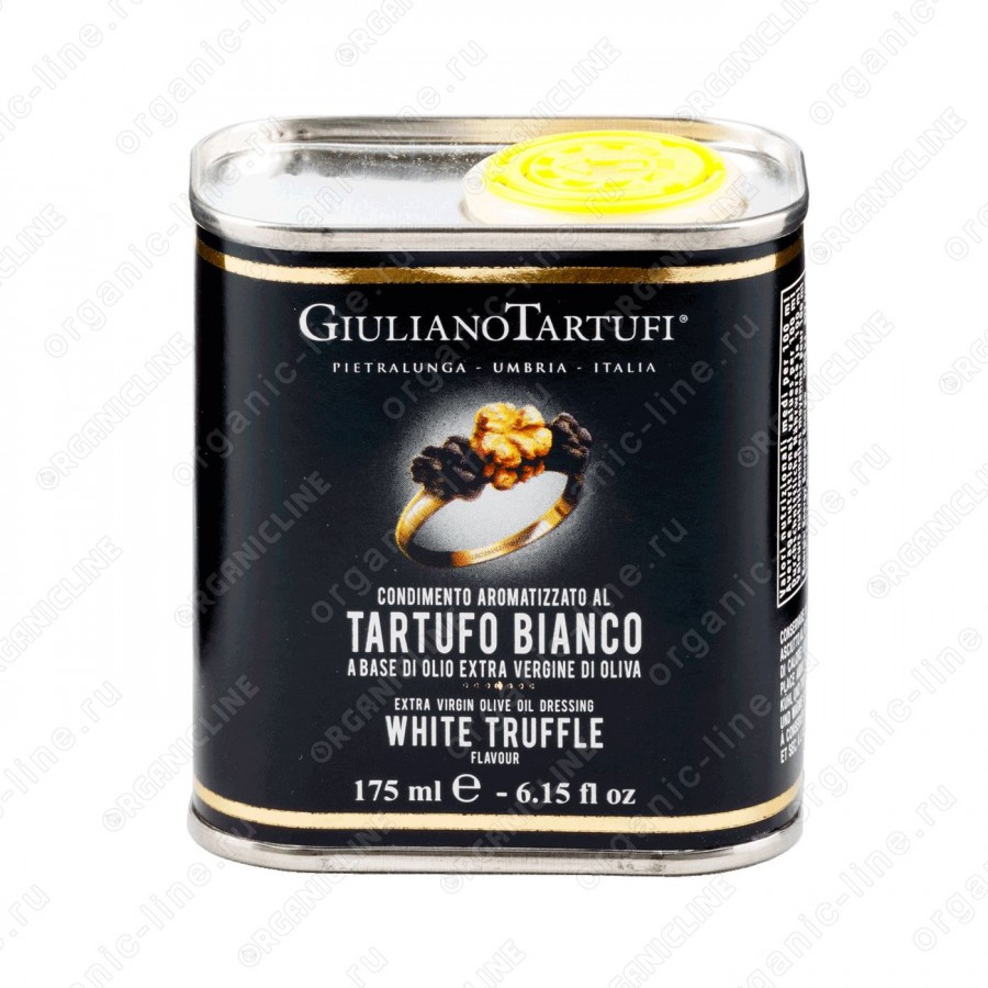 Масло оливковое extra vergine с белым трюфелем 175 мл (ж/б) Giuliano Tartufi