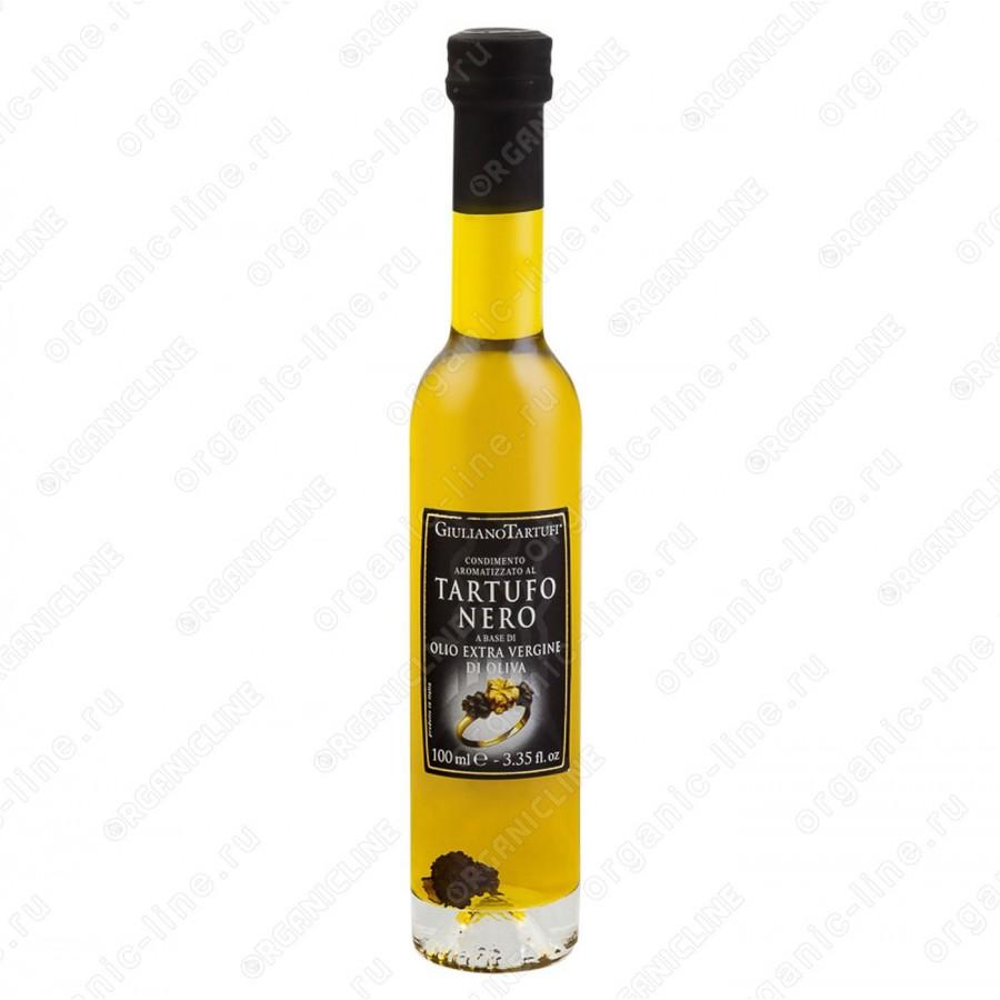 Масло оливковое extra vergine с черным трюфелем 100 мл Giuliano Tartufi