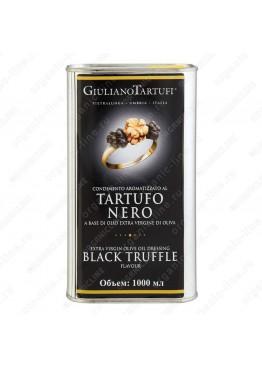 Масло оливковое extra vergine с черным трюфелем 1 л (ж/б)