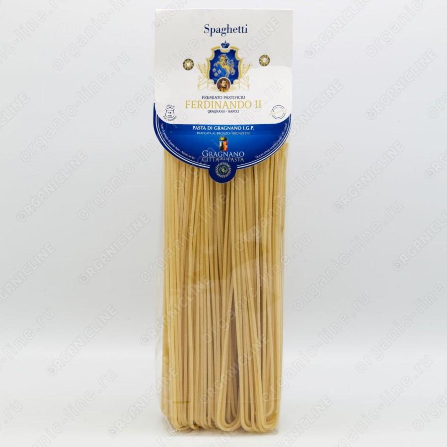 Паста Спагетти 500 г IGP Gragnano Ferdinando II