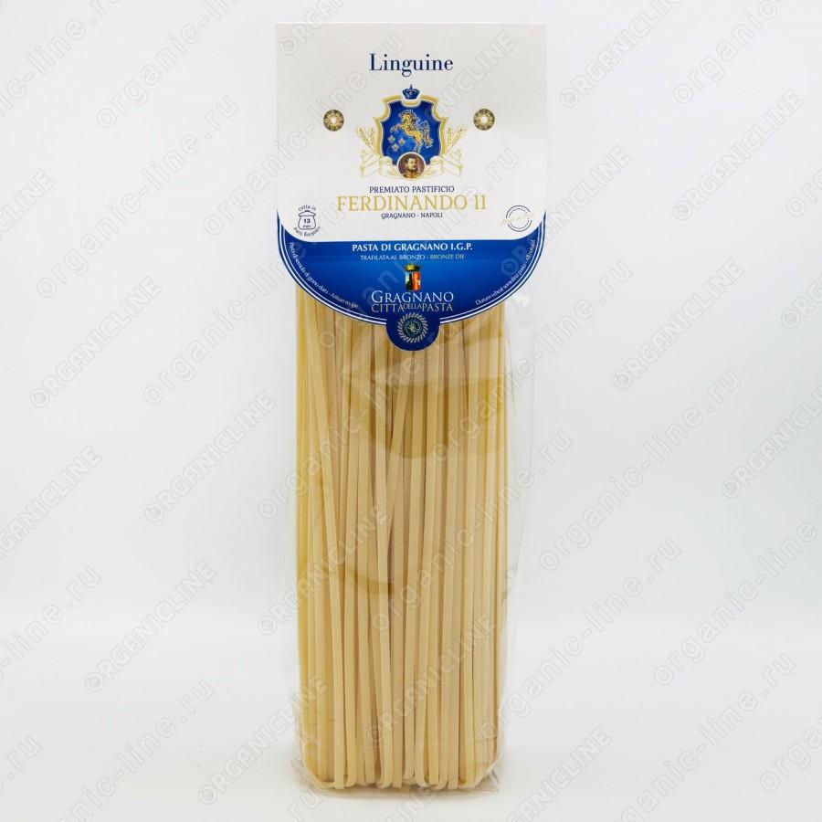 Паста Лингвини 500 г IGP Gragnano Ferdinando II