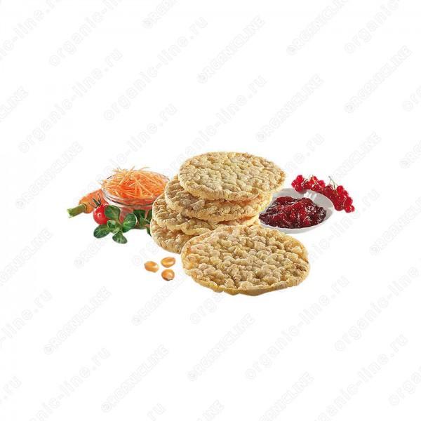 Кукурузные хлебцы 120 г, Без Глютена, БИО, Веган