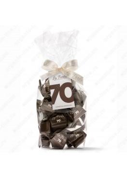 Трюфель с горьким шоколадом 70% Без Глютена 200 г