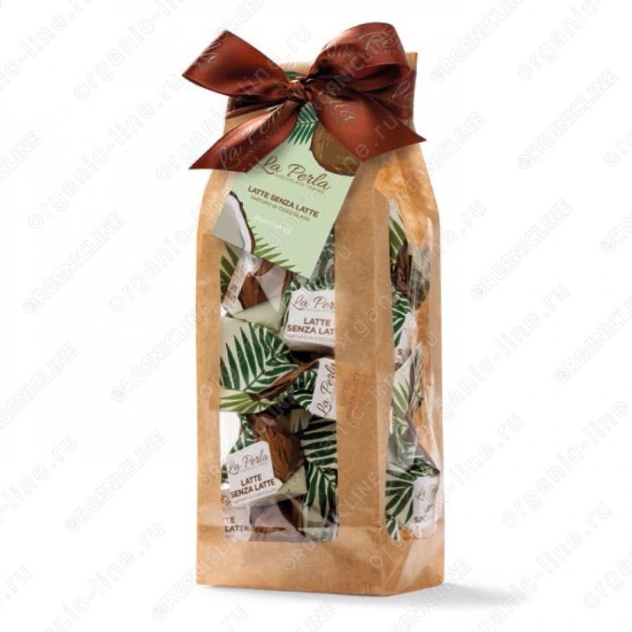 Трюфель с кокосовым молоком без лактозы Без Глютена La Perla 190 г