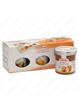 """Набор из трех соусов фруктовых (груша, инжир, апельсин) """"Tris salse dolce e piccante"""" 150 г"""