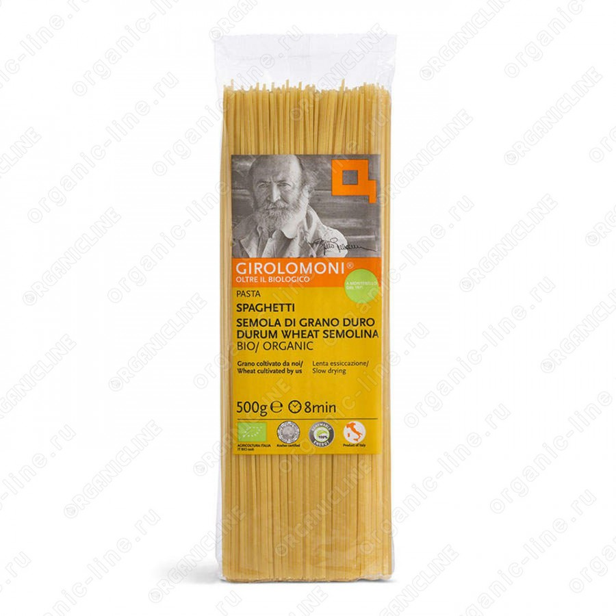 Макаронные изделия Спагетти 500 г, БИО