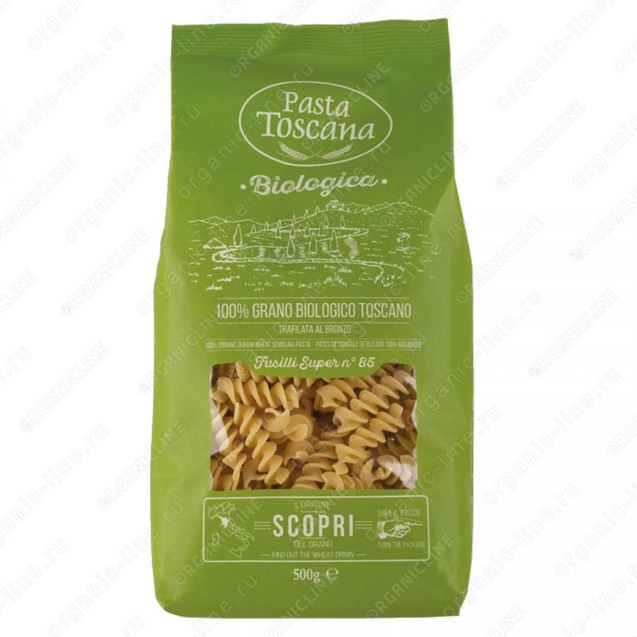 Паста Фузилли BIO 500 г Pasta Toscana