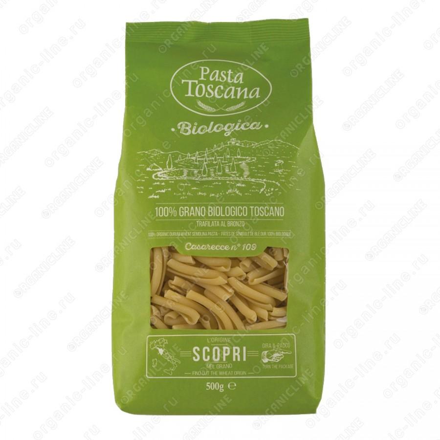 Паста Казаречче BIO 500 г Pasta Toscana