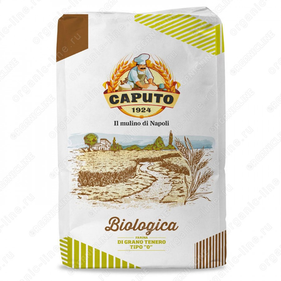 Мука из мягких сортов пшеницы БИО Caputo (Капуто) 25 кг