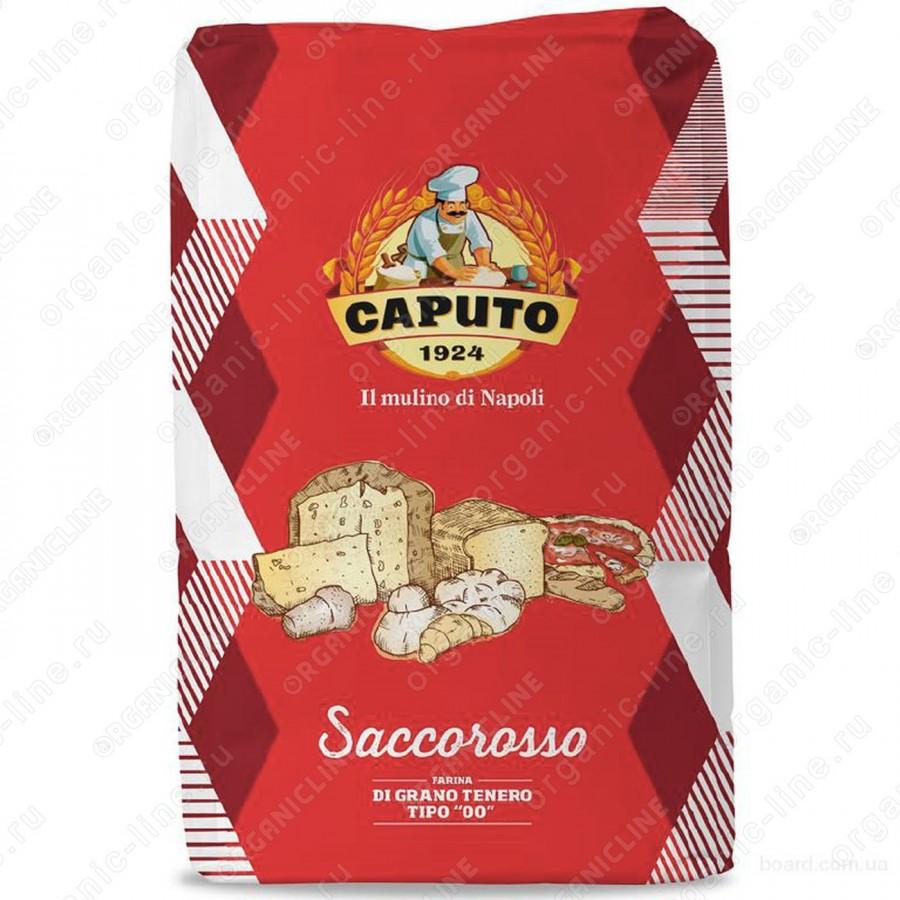 Мука из мягких сортов 00 Сакко Россо Caputo (Капуто) 25 кг
