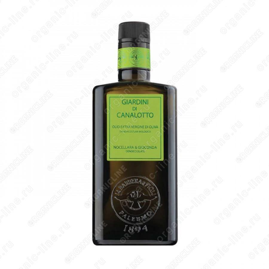 Сицилийское оливковое масло э/в Джардини ди Каналотто класса Премиум 500 мл, БИО