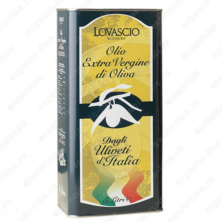 Масло оливковое э/в 100% Итальяно 5 л Lovascio