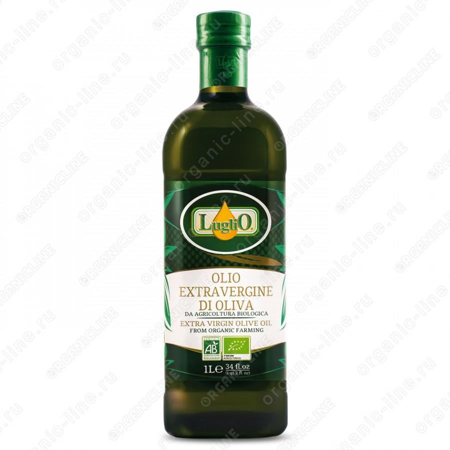 Масло оливковое э/в Organic 1 л Luglio Италия, БИО