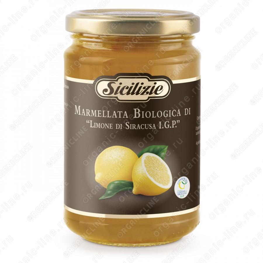 Конфитюр из Лимона Сиракузано IGP БИО 360 г Sicilizie Италия, БИО