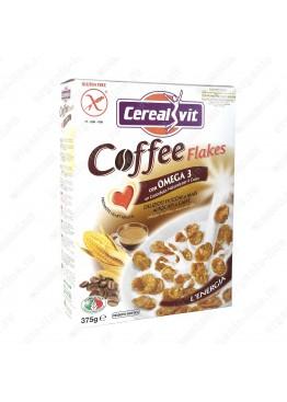 Кукурузные хлопья хрустящие с кофе и Омега-3, 375 г