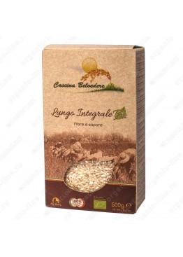 Рис Райб коричневый цельнозерновой 500 г, Органик