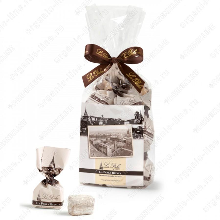 Белый трюфель с Пьемонтским орехом ручной работы 200 г, Без Глютена