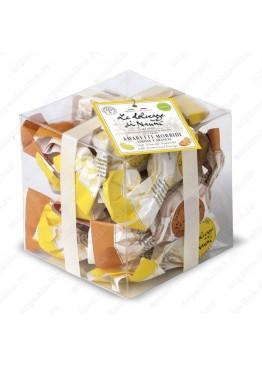 Амаретти Кубо Микс с Лимоном и с Апельсином 240 г