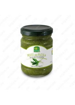 Соус песто дженовезе со свежей рукколой в оливковом масле 130 г