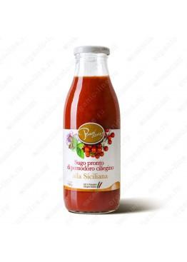 """Томатный соус """"Сицилийский"""" из сицилийских помидоров черри 500 г"""