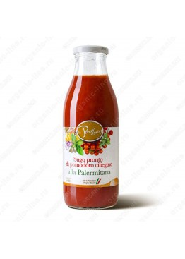 """Томатный соус """"Палермитана"""" из сицилийских помидоров черри 500 г"""