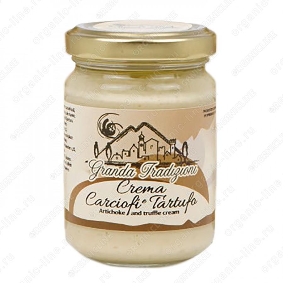 Соус-крем из Артишоков и Белого Трюфеля 130 г Granda Tradizioni