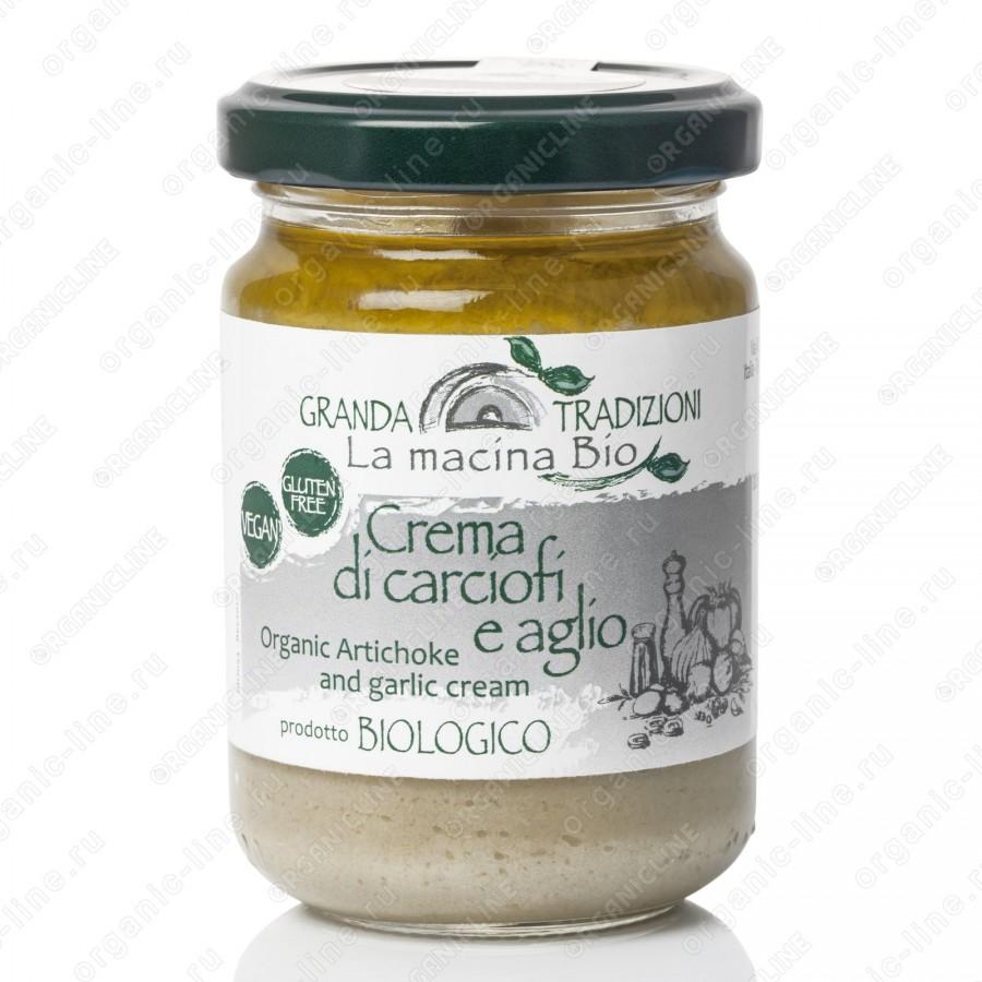 Соус-крем из Артишоков 130 г La Macina BIO