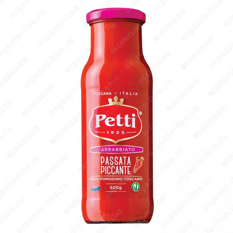 Томатный соус Пассата Аррабиата 500 г Petti